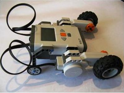 simple lego robot instructions