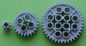 how to find gear ratio by counting teeth